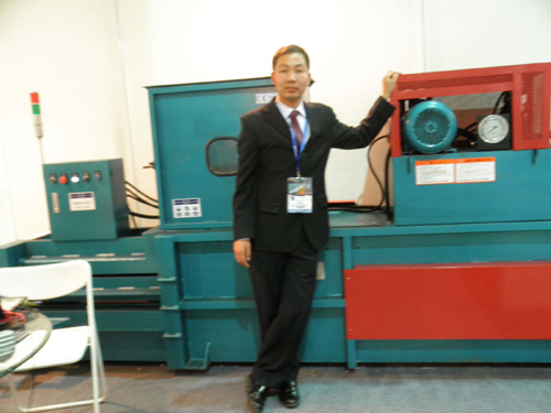 Plastic bottle baler is a new type of environmental protection equipment