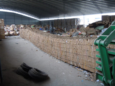 How to choose a waste paper baler for a waste recycling station?