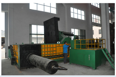 NKY81-3150C Steel Scrap Hydraulic Baling Machine