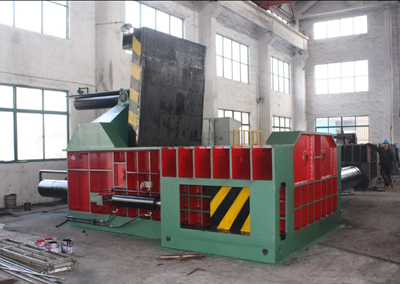 NKY81-2000A Scrap Metal Used Baler Recycling Baler machine