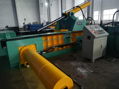 Talent is the development direction of high-speed waste paper baler