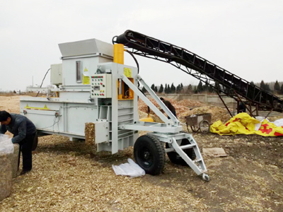 NKB260 Cottonseed Hull Baler Machine