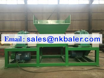 Two Shaft shredder machine