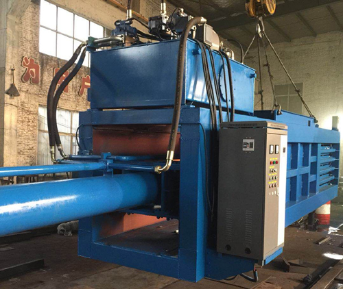 Horizontal Baling Press Machine - nkbaler