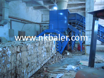 Which company machine is good for automatic waste paper baler?