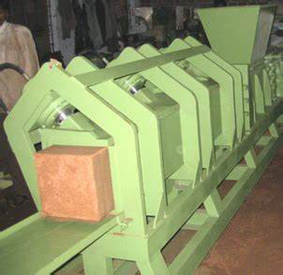 Coir Dust Baling Machine