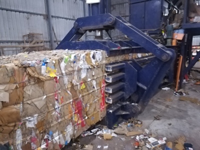 Intelligent technology makes waste paper baler more reliable and safe