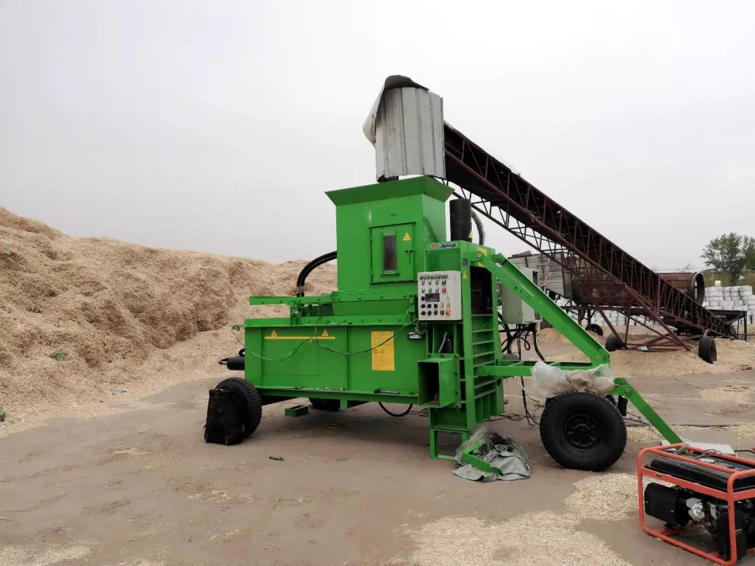 Realistic progress drives the self-development of waste paper Baling Machines