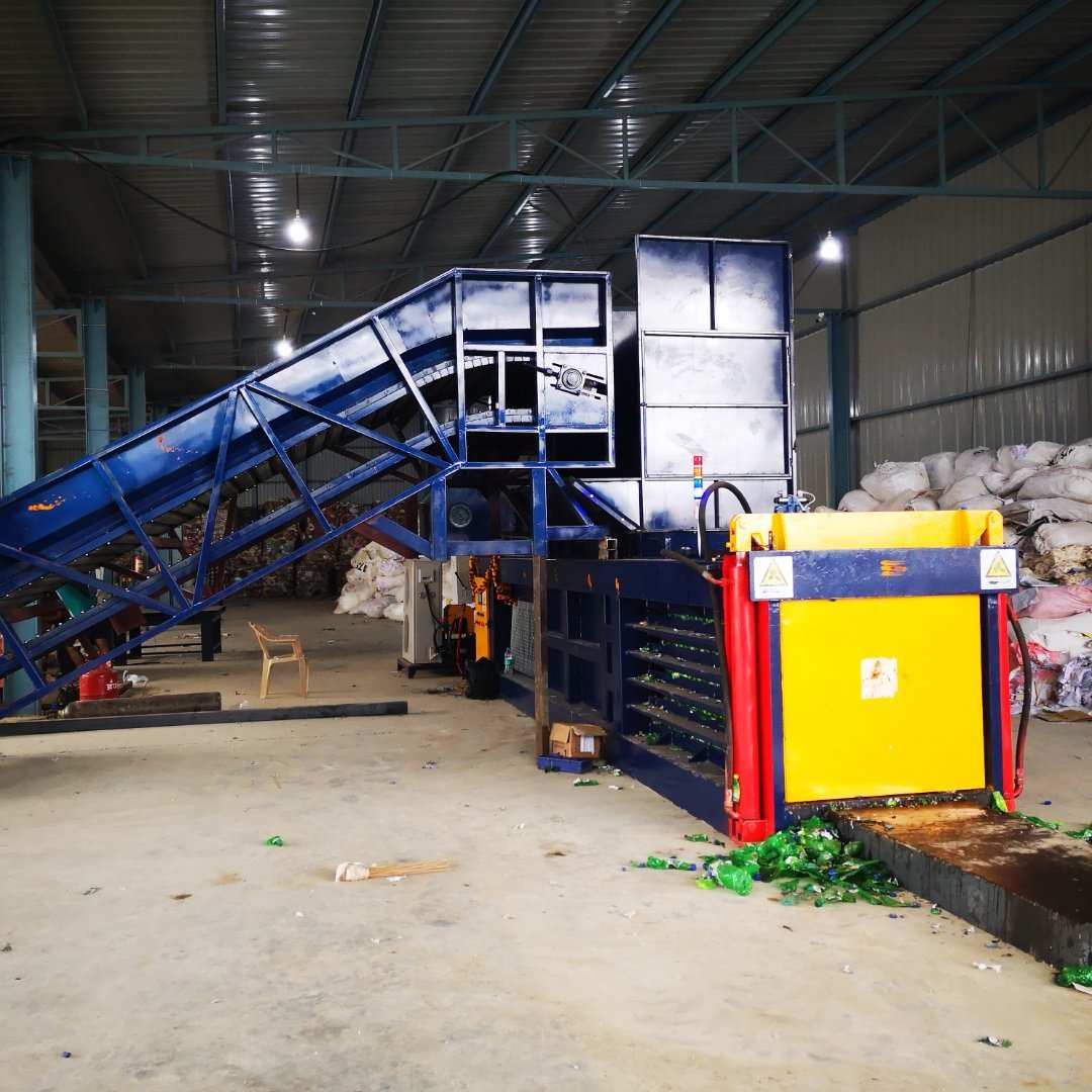 The choice of high-tech new era of waste paper Cardboard Press Compactor