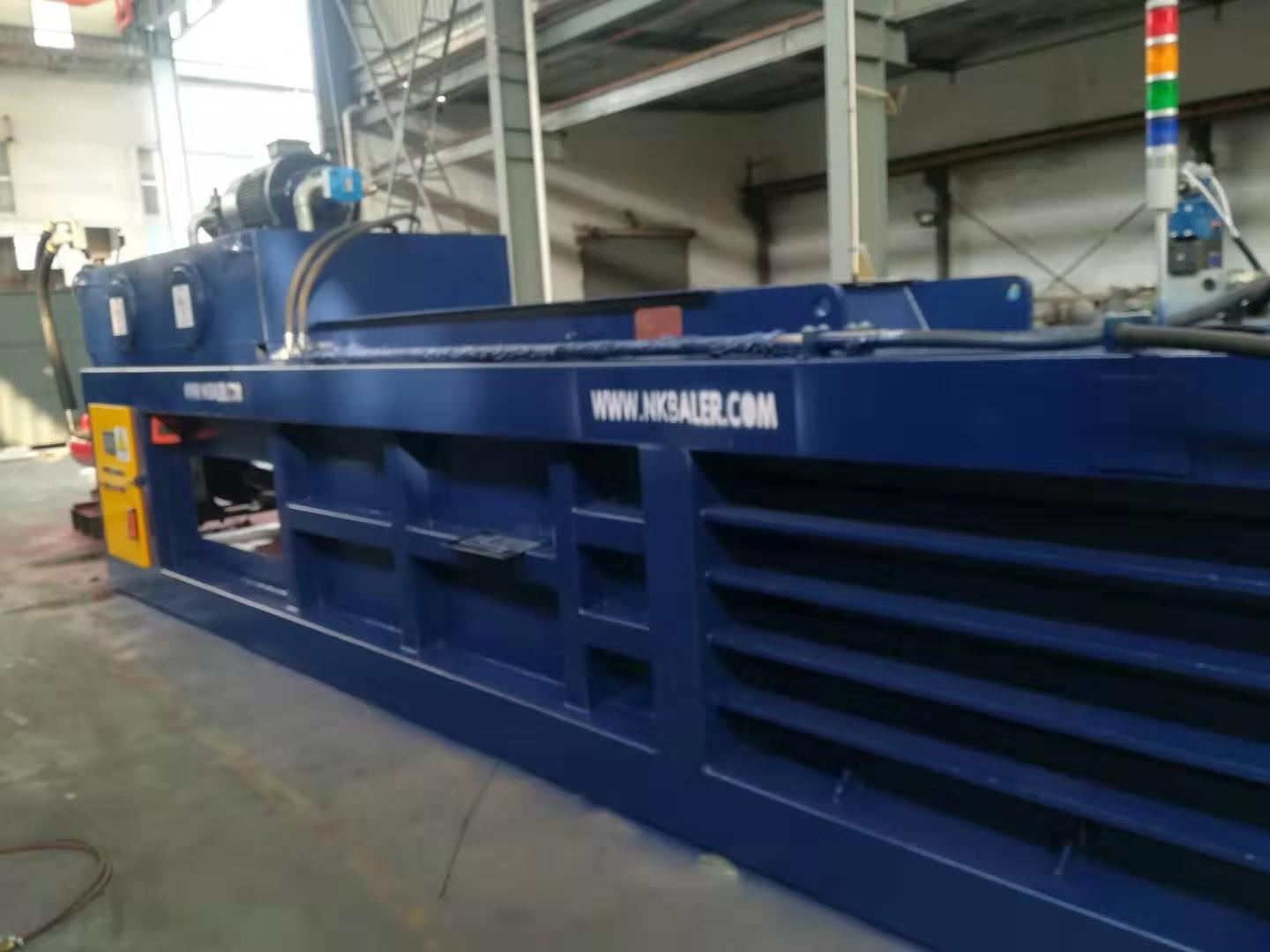 horizontal automatic waste paper baler creates a perfect brand