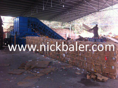 The main function of the waste paper baler accumulator