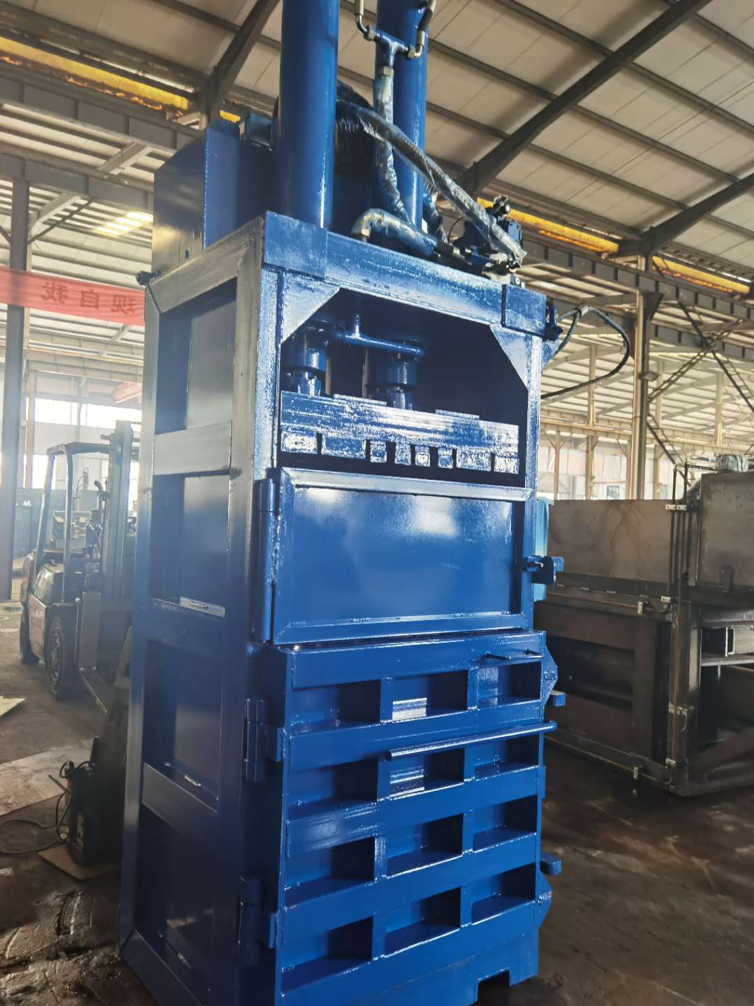 Nick Baler plastic bottle baler machine