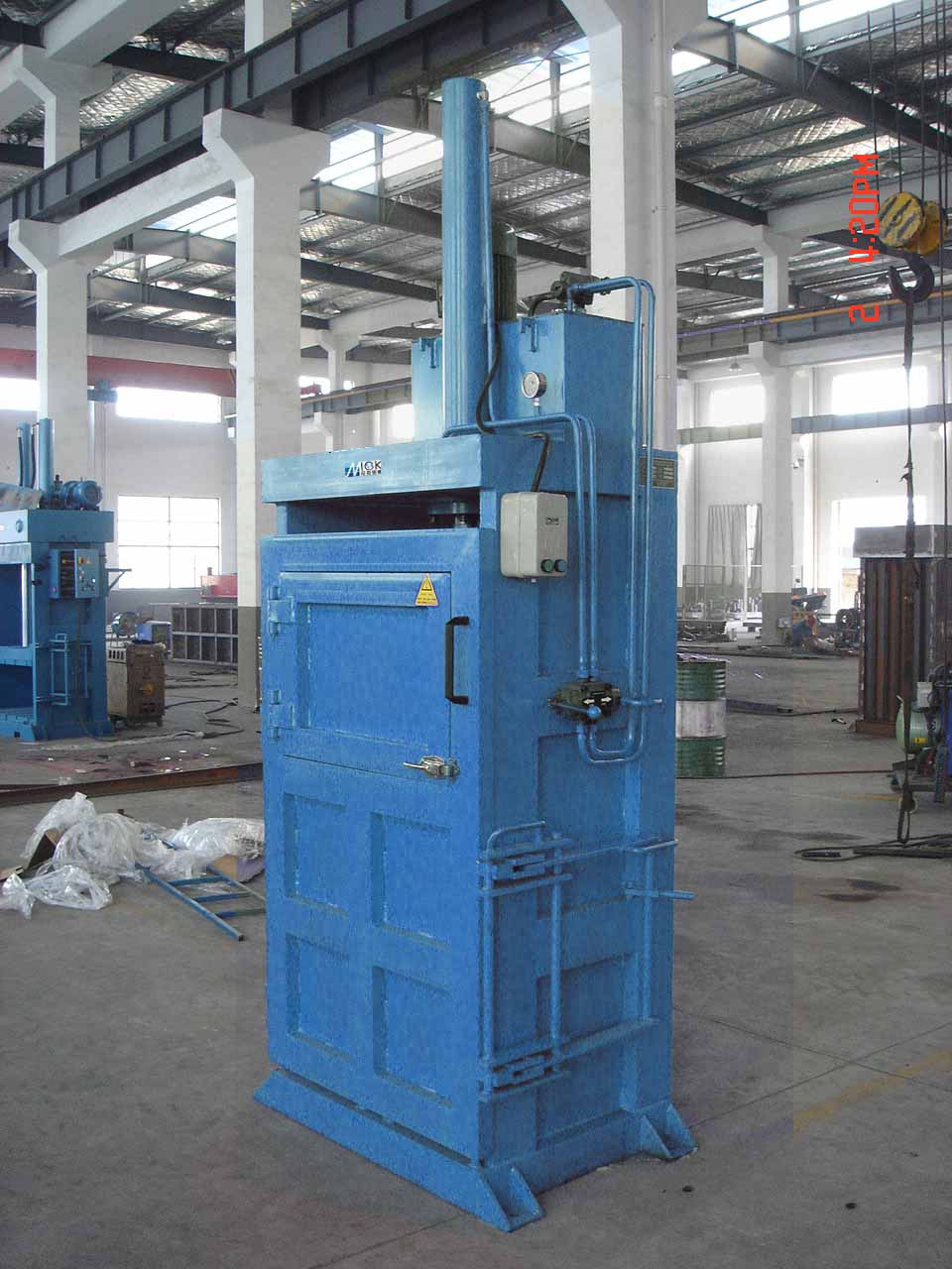 Advantages of plastic bottle baler