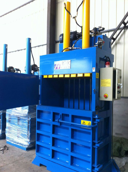 Cotton pulp fiber baler