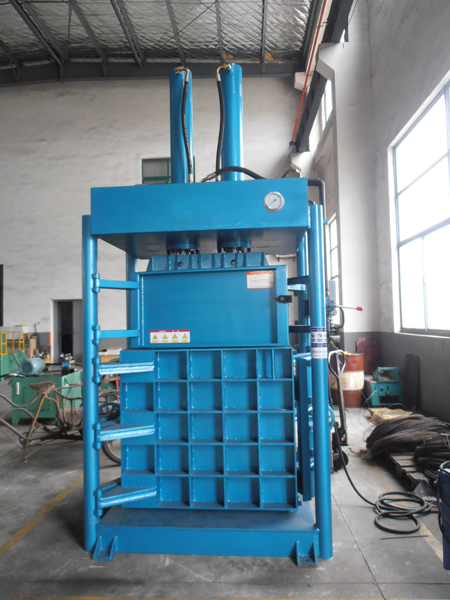 lifting chamber type clothing Baler machine