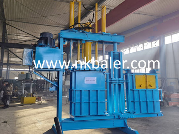 Double Box Used Clothes Baler